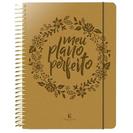 Meu Plano Perfeito - Planner Anual - Capa Luxo (PU)