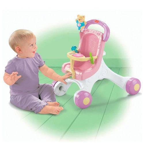 Meu Primeiro Carrinho de Bebê - Fisher Price