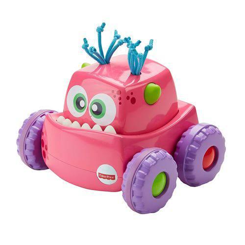Meu Primeiro Carrinho - Veículo Monstro - Rosa - Fisher-price