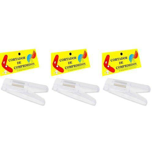 Mezzo Cortador de Comprimidos (kit C/03)