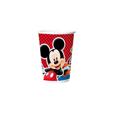 Mickey Clássico Copo Papel C/8 - Regina