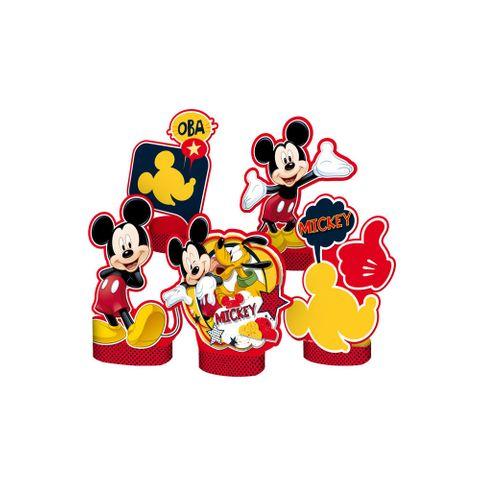 Mickey Clássico Enfeite de Mesa C/8 - Regina