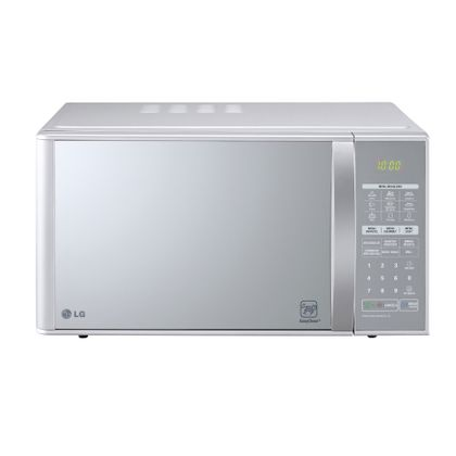 Micro-ondas LG Grill Prata Espelhado 30L 110v - MH7053R.FS1FLGZ