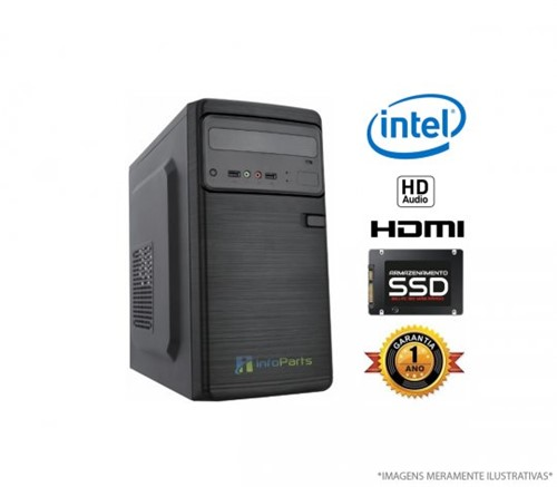 Microcomputador Intel Core I3-3220 - 4GB, SSD 120GB | InfoParts