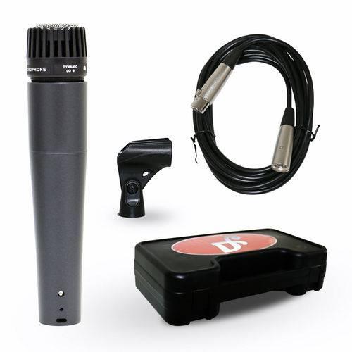 Microfone Arcano Dinamico com Fio Renius-7 Xlr