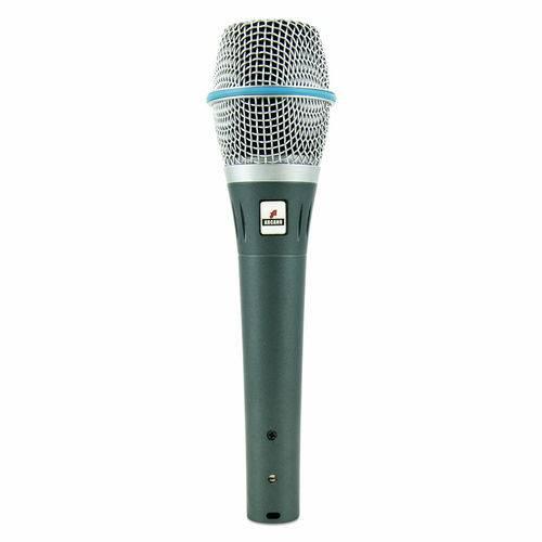 Microfone Condensador Arcano Am-b87 C/ Cabo Balanceado
