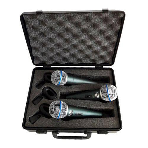 Microfone Dinâmico Pro Btm-58a Metal Mxt 54 1 108