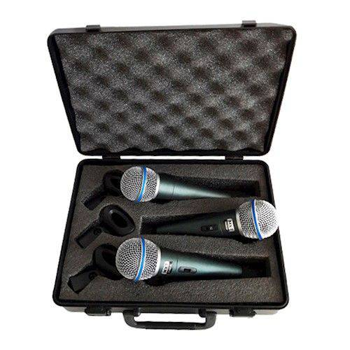 Microfone Dinâmico Pro Btm-58a Metal
