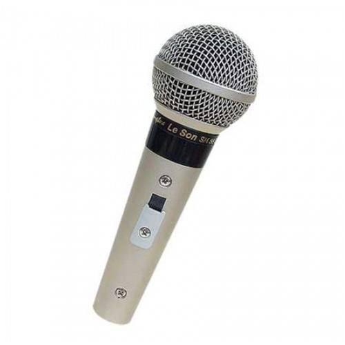 Microfone Leson com Fio Profissional Sm58 P4