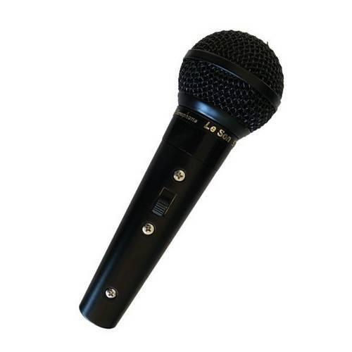 Microfone Leson Sm 58B com Fio Preto