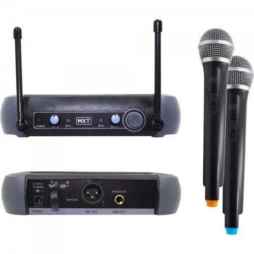 Microfone Sem Fio Duplo Uhf-202 686.1mhz/690 Mxt