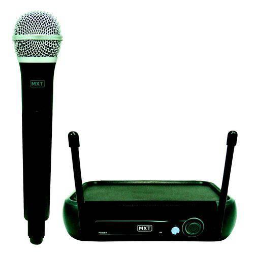 Microfone Sem Fio Mxt Uhf202/201 Frequência 687.6mhz