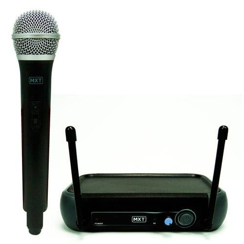 Microfone Sem Fio Profissional Uhf R201 Mxt