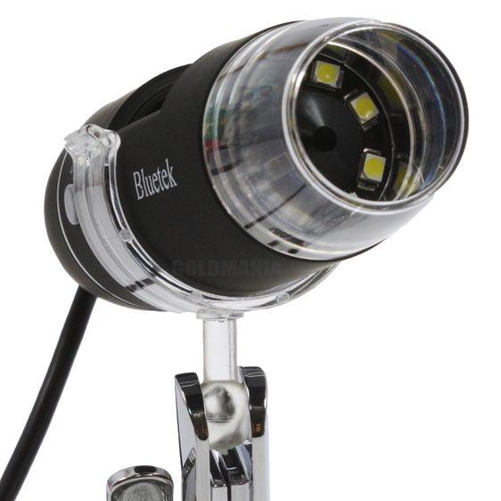 Microscópio Digital Usb Zoom 800x Luz Led Camera 2.0 MP Foto e Vídeo MC800