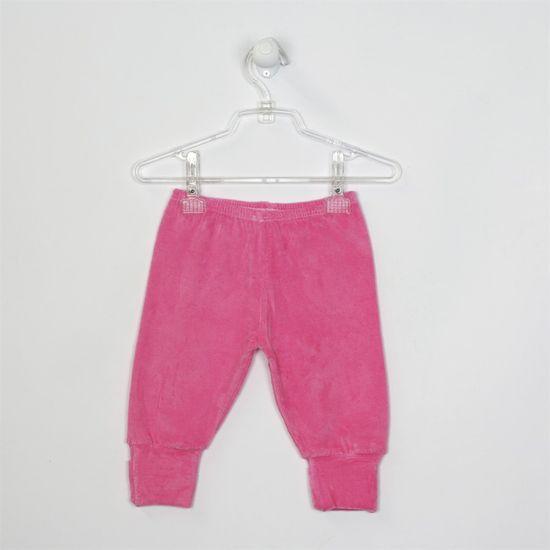 Mijão Bebê Feminino Plush com Pé Reversível Pink-M