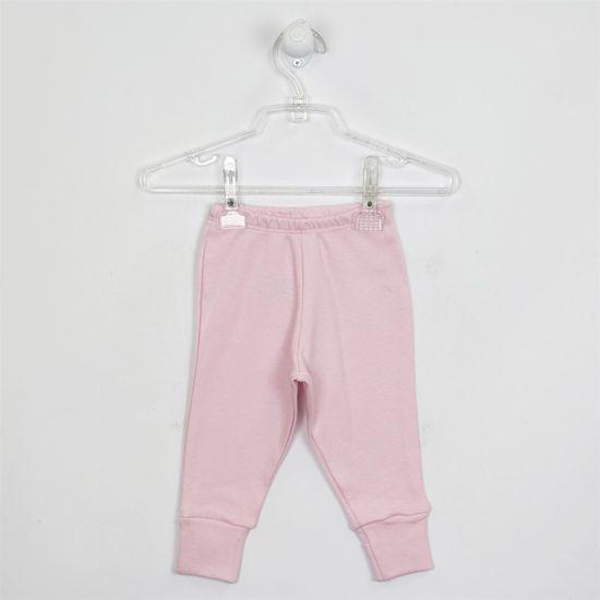 Mijão Bebê Feminino Suedine Rosa com Pé Reversível-M