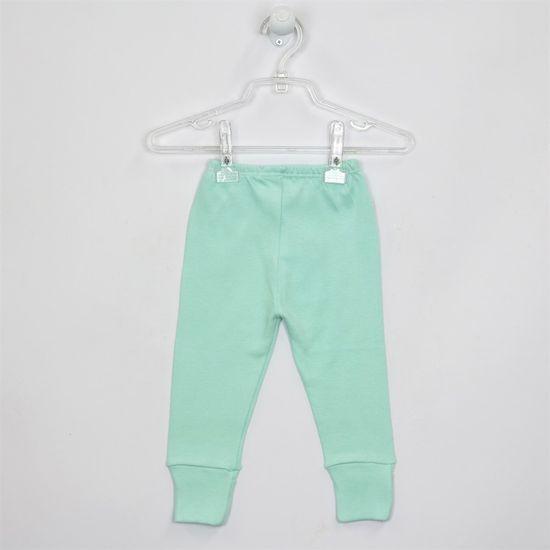 Mijão Bebê Masculino Suedine com Pé Reversível Verde-M