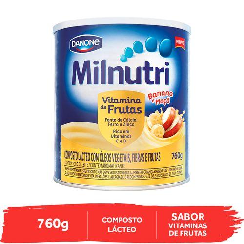 Milnutri Vitamina de Frutas 760g