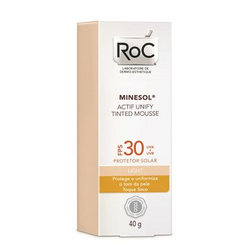 Minesol Actif Tinted FPS-30 Mousse 40g