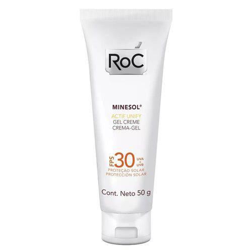 Minesol Actif Unify Fps 30 Roc - Protetor Solar Facial 50g