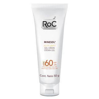 Minesol Actif Unify Fps 60 Roc - Protetor Solar Facial 50g