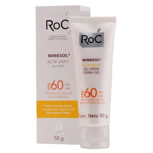 Minesol Actif Unify Fps 60 Roc - Protetor Solar Facial