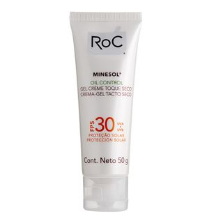 Minesol Oil Control Fps 30 Roc - Protetor Solar Facial 50g