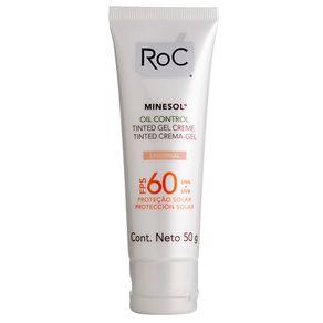 Minesol Oil Control Tinted Fps 60 Roc - Protetor Solar Facial 50g