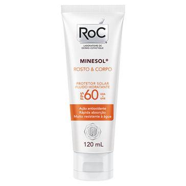 Minesol Roc Rosto & Corpo FPS-60 120ml