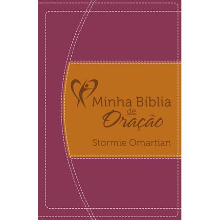 Minha Bíblia de Oração NVI Vinho e Laranja