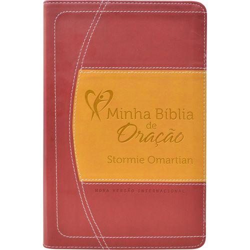 Minha Bíblia de Oração NVI Vinho/Laranja