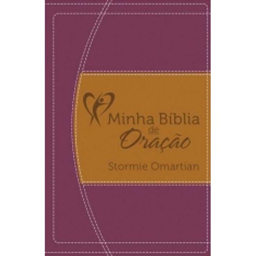 Minha Biblia de Oracao - Vinho e Laranja - Mc