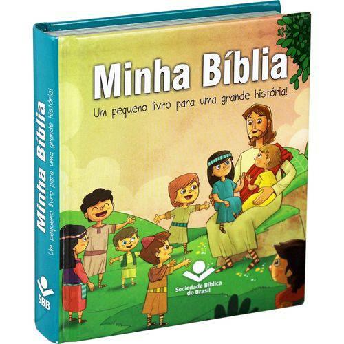 Minha Biblia - Infantil SBB - Tradução Novos Leitores
