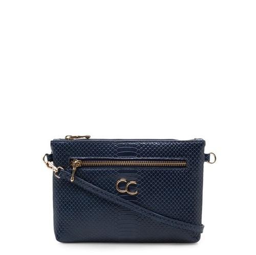 Mini Bag Couro - Python Safira UN