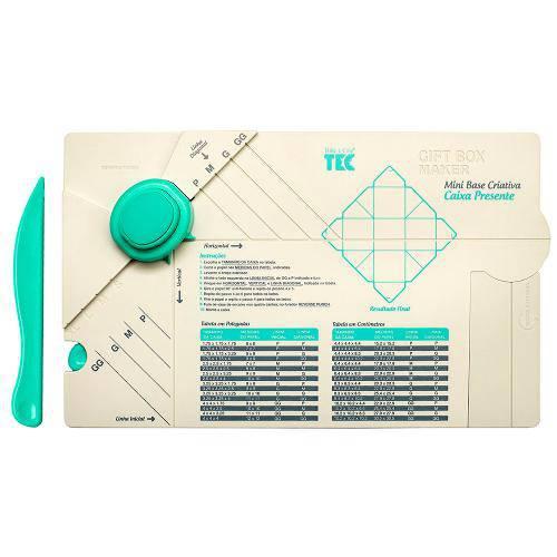 Mini Base Criativa Caixa Presente Mbc004 - Toke e Crie