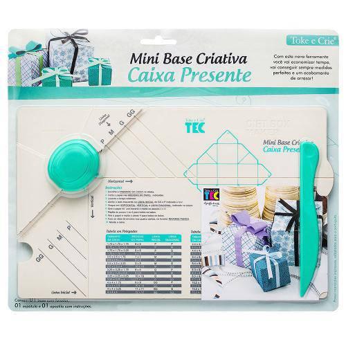 Mini Base Criativa Toke e Crie Caixa Presente - 17693 - Mbc004