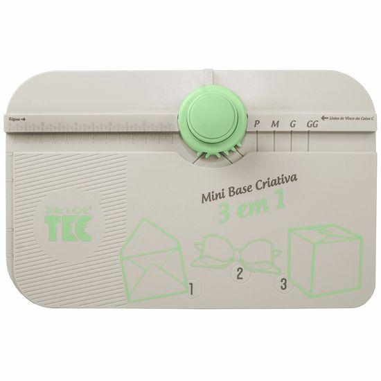 Mini Base Criativa Toke e Crie MBC005 3 em 1 Caixas, Envelopes e Laços