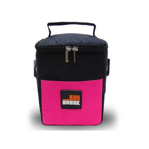 Mini Bolsa Térmica Rosa Fitness Bag Break