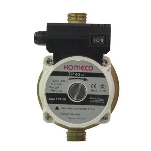 Mini Bomba TP 40 G4 Bronze 127V 120 Watts Komeco
