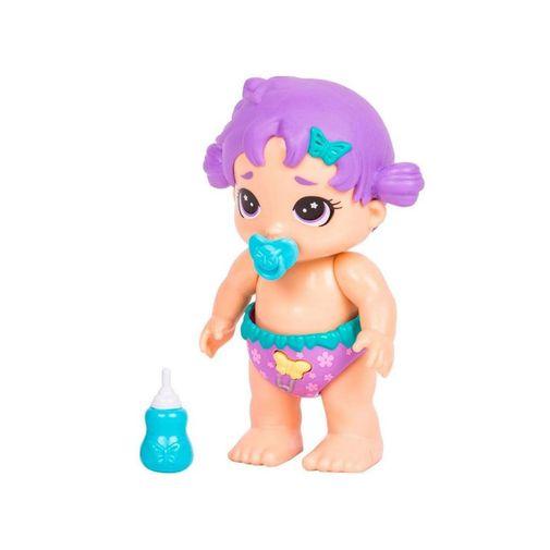 Mini Boneca Bizzy Bubs - Rosinha - DTC