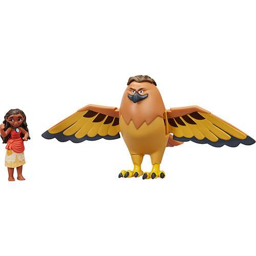 Mini Boneca Moana e Maui Falcão - Hasbro