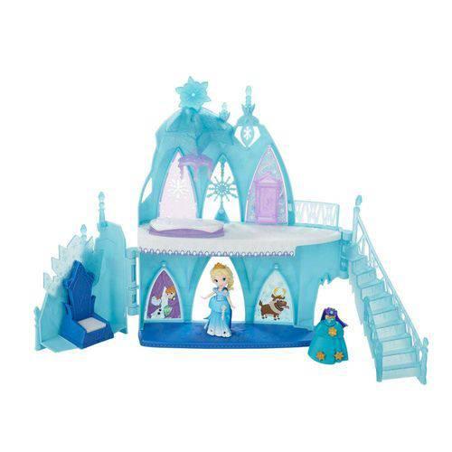 Mini Boneca o Castelo de Gelo da Elsa Frozen Little Kingdom - Hasbro