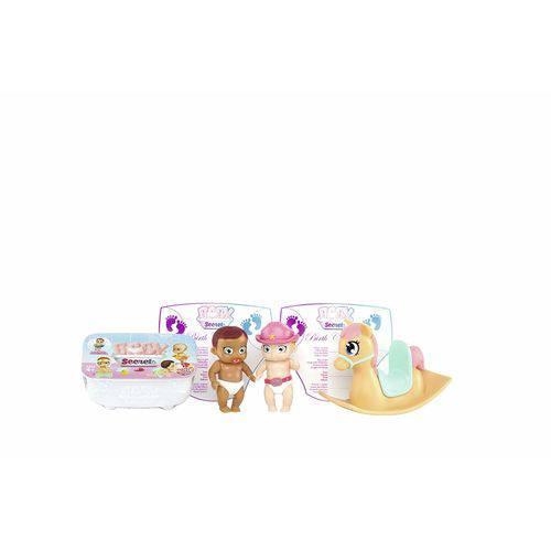 Mini Bonecas e Acessórios - Baby Secrets - Balanço de Cavalinho - Candide