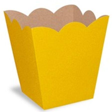 Mini Cachepot Amarelo - 10 Unidades