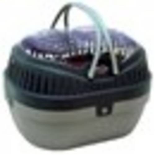 Mini Caixa Transporte para Hamster Gulliver Cinza Chalesco - Grande