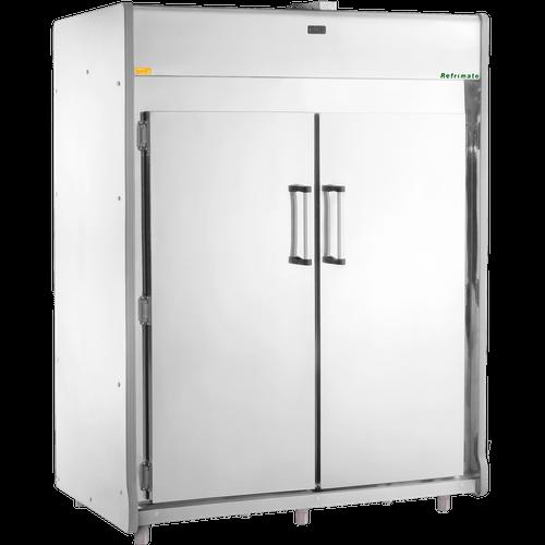 Mini Câmara Fria para Carnes Refrimate, 1755 Litros, Inox - MCP1800 - 220V