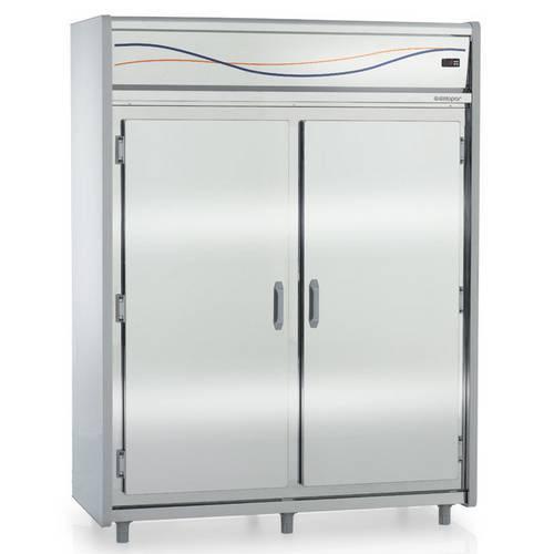 Mini-Camara Refrigerada Inox para Carnes 1644 Litros Gmcr 1600 Gelopar