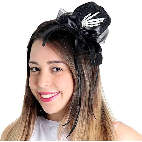 Mini Chapéu Mão de Esqueleto Luxo - Sulamericana Fantasias