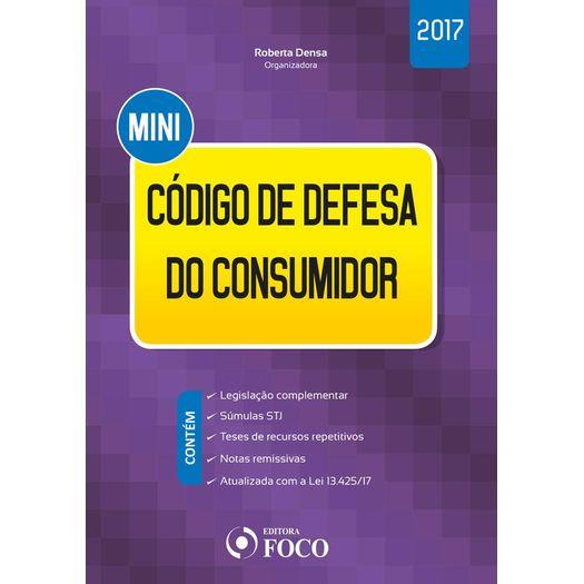 Mini Codigo de Defesa do Consumidor - Foco - 1 Ed