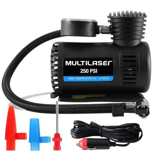 Mini Compressor de Ar Multilaser
